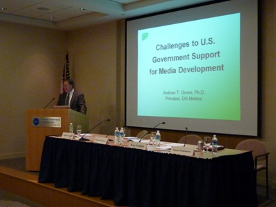 Challenges to U.S. Government Support for Media Development Event