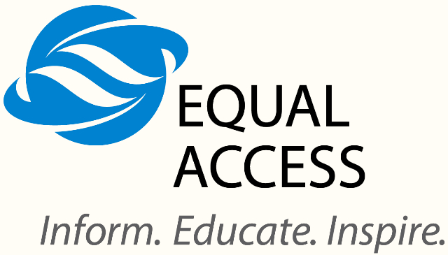 Equal Access Logo with tagline