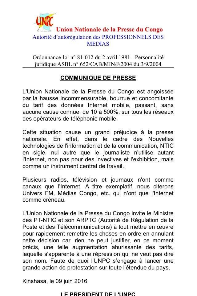 DRC post